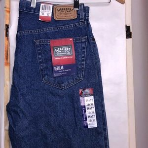 Signature Levi Strauss jeans regular fit 36x32